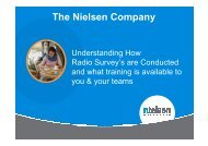 The Nielsen Company - Commercial Radio Australia