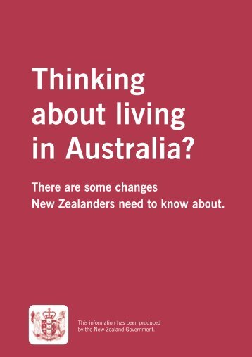 Thinking about living in Australia? - RCSA