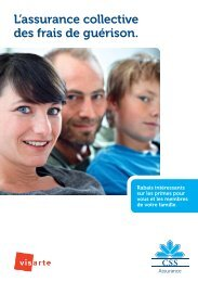 Assurance maladie Groupe CSS (PDF) - Visarte