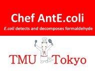 TMU-Tokyo Presentation - iGEM 2012