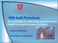 1099 Audit Procedures H.pdf - Financial & Business Services