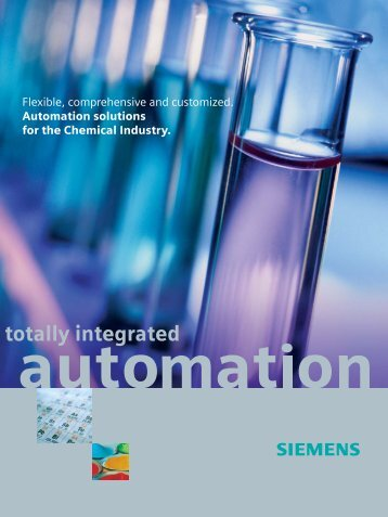 totally integrated - Siemens Industry, Inc.