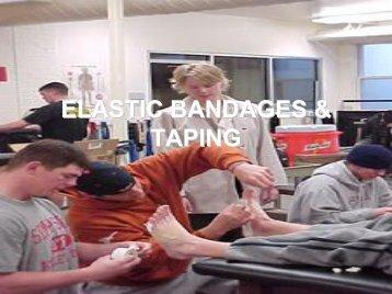 ELASTIC BANDAGES & TAPING TAPING