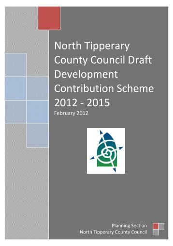 Draft Scheme now on display deadline for Submissions Friday 23rrd ...