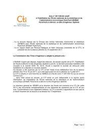 ENSAE ParisTech - Commission des Titres d'Ingénieur