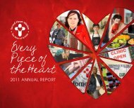 Annual report 2011 - Sacred Heart Mission