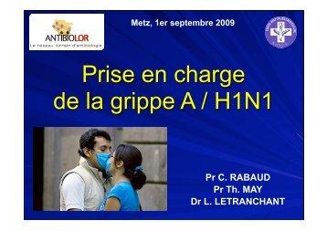 Prise en charge de la grippe A / H1N1 - ammppu