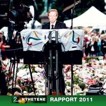 RAPPORT 2011 - Tv2