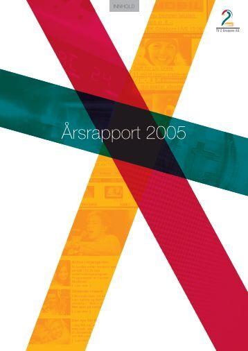 Årsrapport 2005 - Tv2