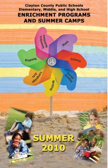 Summer Enrichment - Clayton County Public Schools