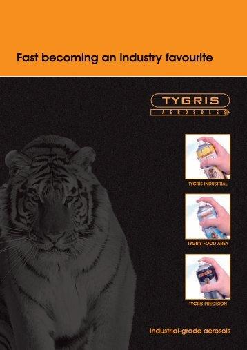 Tygris aerosols - Chello Chemicals