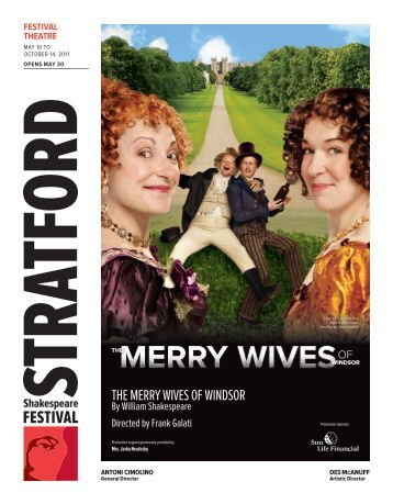 The merry wives of windsor - Stratford Festival