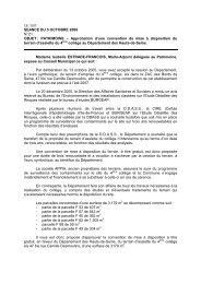 21.Approbation d'une convention de mise à disposition du terrain d ...