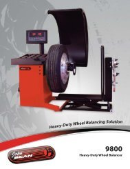 Heavy Duty Wheel Balancer - Ctequipmentguide.ca