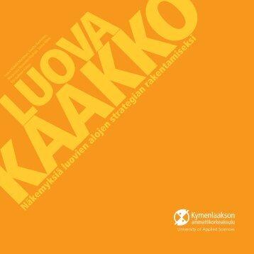 PDF-muodossa - Kymenlaakson ammattikorkeakoulu
