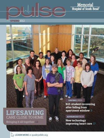 Spring 2012 - Memorial Health System