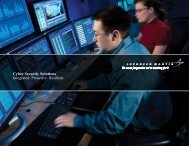 Cyber Security Solutions Integrated. Proactive ... - Lockheed Martin