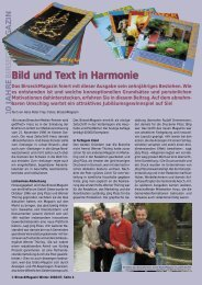 Bild und Text in Harmonie - Birseck Magazin