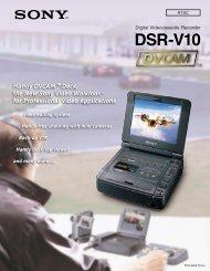 DSR-V10 Brochure - SIM Digital