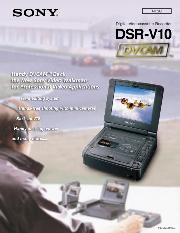 DSR-V10 Brochure - SIM Digital