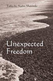 Unexpected Freedom - DhammaTalks.net