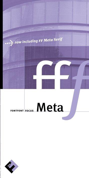 FF Meta - FontShop
