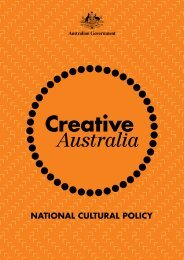 Creative Australia PDF - Office for the Arts