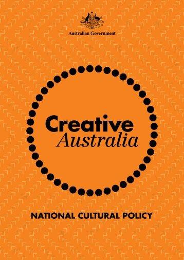 Creative Australia PDF - Office for the Arts