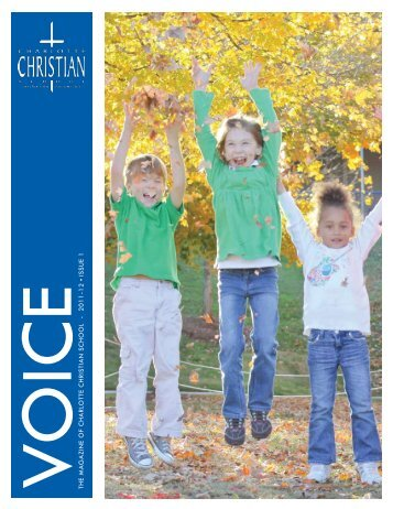 2011-12 ISSUE 1 Class of 2011 - Charlotte Christian School