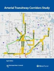Arterial Transitway Corridors Study Final Report - Metro Transit