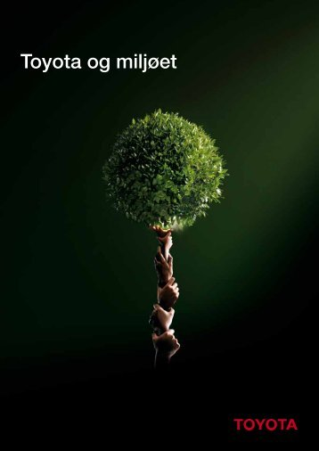 Toyota og miljøet - Toyota Hadsund