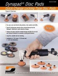 Dynapad® Disc Pads - Dynabrade Inc.