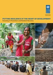 putting resilience at the heart of development - PreventionWeb