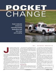 Small, trailerable cruisers are expanding boating ... - Ranger Tugs