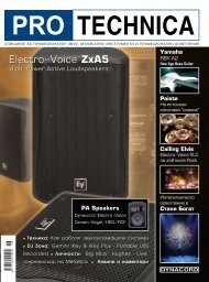 PDF вариант - Pro Audio & Lighting Magazine