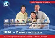 DUEL 8 - Daňová evidence - Ježek software