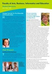 Student Newsletter - Central Queensland University