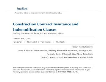 How does JCT Contract Insurance work?