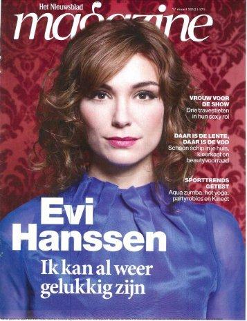 Nieuwsblad Magazine 17/03/2012 Periodicity : Weekly Printrun ...
