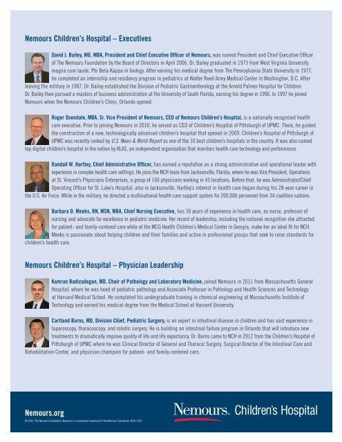 Org Nemours Childrens Clinic — Samforgovernor