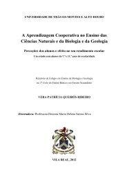 A Aprendizagem Cooperativa no Ensino das Ciências Naturais e da ...
