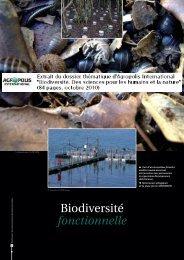 Biodiversité fonctionnelle - Agropolis International