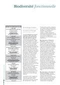 Biodiversité fonctionnelle - Agropolis International - Page 3