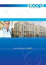 Geschäftsbericht 2011 - co op Minden-Stadthagen eg