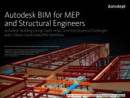 Autodesk BIM for MEP and Structural Engineers