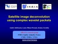 See the Demo (PDF) - Sophia Antipolis - Inria