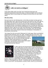 LiDL ist nicht zu billigen! - Attac Deutschland