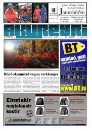 39. tölublað, 2. árgangur – 11. október 2012 - Akureyri Vikublað