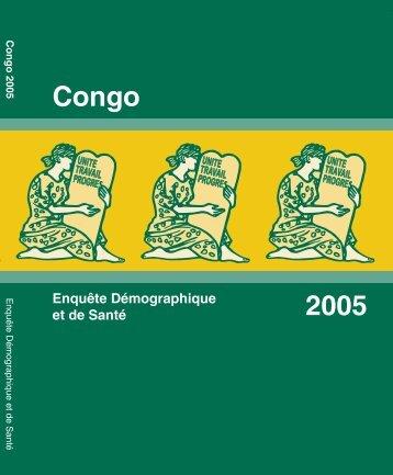enquête démographique et de santé du congo - Measure DHS