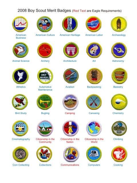Merit Badge 2006 Robbinsville BSA Troop 79